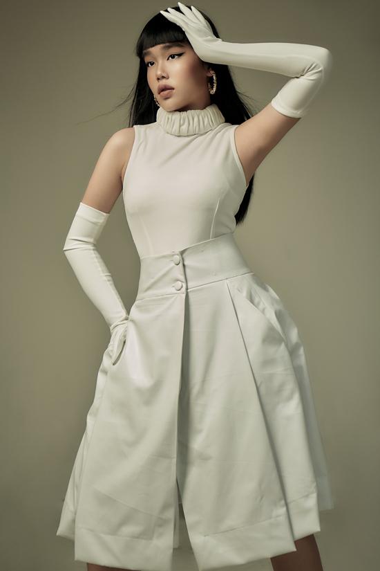Ba mẫu thiết kế gam trắng của Thanh Huỳnh - Hình 1