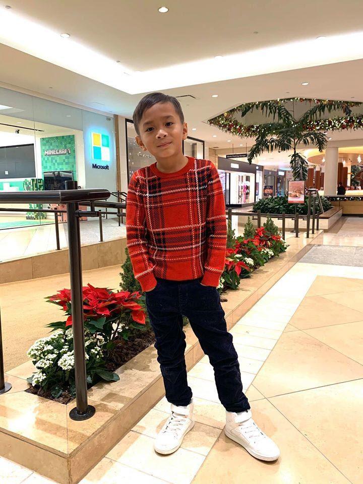 Thanh Thảo lo lắng vì con trai Ngô Kiến Huy mãi không lớn: 10 tuổi vẫn thấp bé, nhẹ cân hơn các bạn - Hình 9