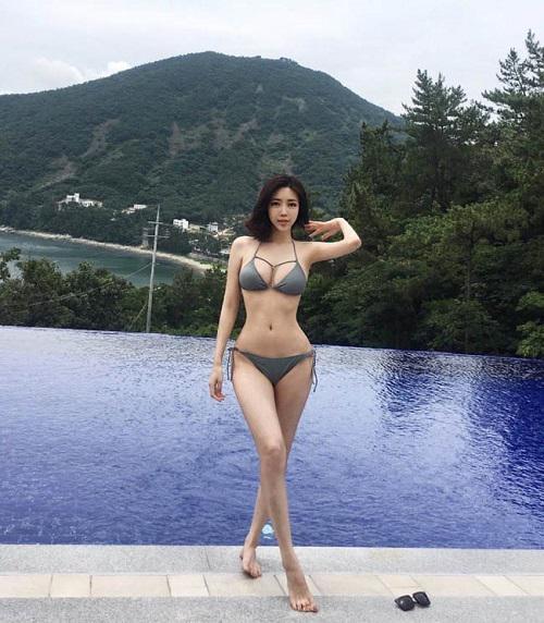 Những hot girl xứ Hàn dù hở bạo hay kín đáo cũng đều gây bão nhờ thân hình vệ nữ trời ban - Hình 2