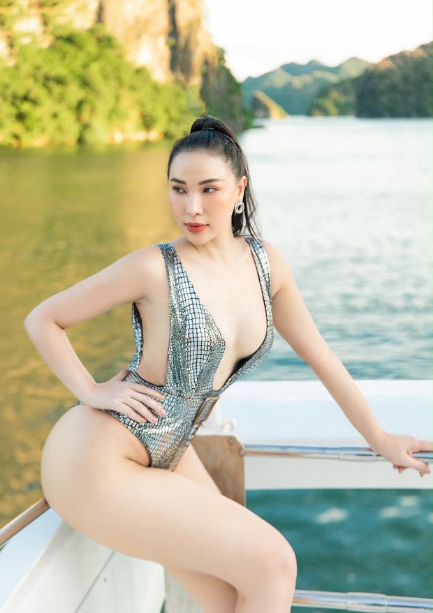 Mặc bikini trên du thuyền: Ngọc Trinh quyến rũ, các mỹ nhân khác cũng không phải dạng vừa - Hình 5