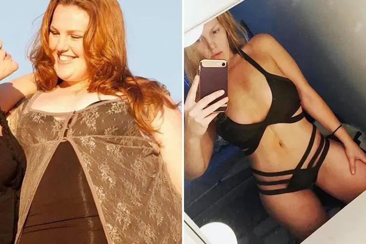 8 cô gái có thân hình quyến rũ sau khi giảm nhiều cân - Hình 1