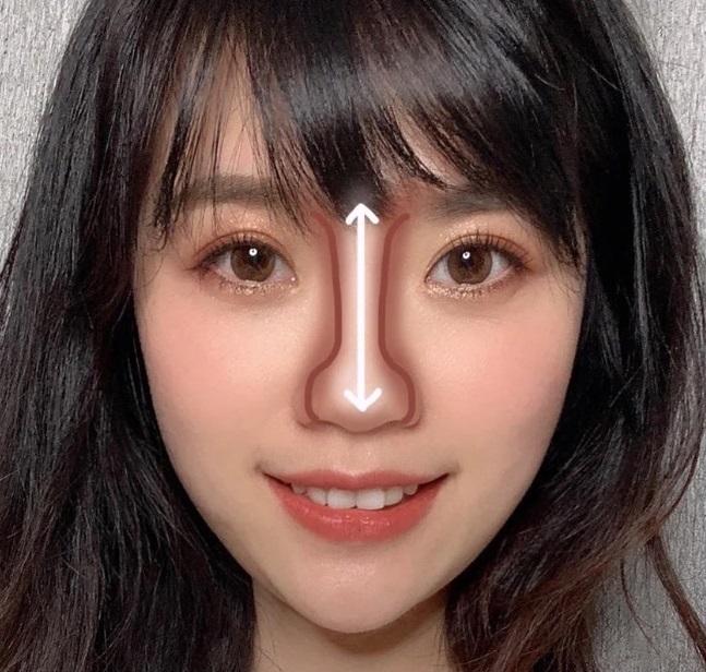 Cách makeup theo hình dáng mũi - Hình 4