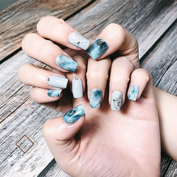 Những mẫu nail ombre đẹp trẻ trung được yêu thích nhất hiện nay - Hình 4