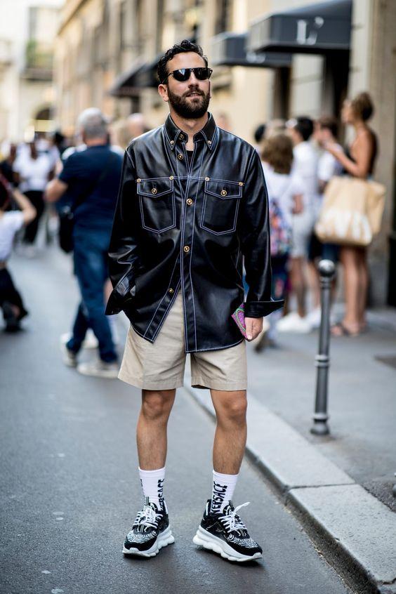 Bí kíp cho nam giới mặc quần short ra phố vẫn phong độ ngời ngời - Hình 6