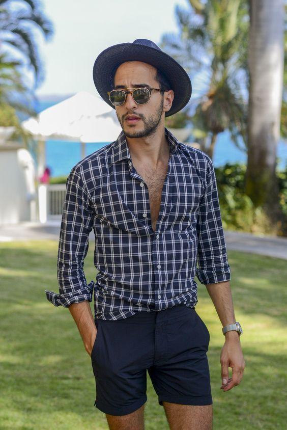 Bí kíp cho nam giới mặc quần short ra phố vẫn phong độ ngời ngời - Hình 10