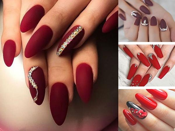 Những mẫu nail cô dâu xinh đẹp giúp bạn trở nên lung linh hơn trong ngày cưới - Hình 4