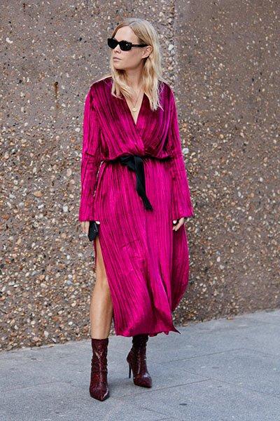 Váy là vật bất li thân cho các nàng thơ xinh đẹp vào mùa Thu - Hình 2