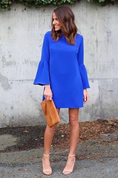 Váy là vật bất li thân cho các nàng thơ xinh đẹp vào mùa Thu - Hình 3