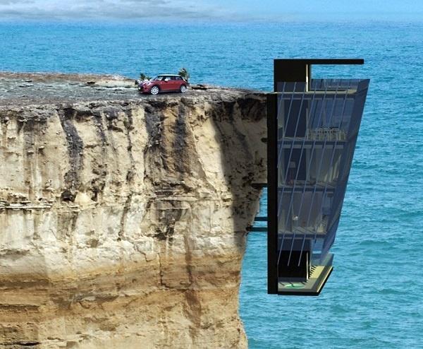 Tim như ngừng đập khi ngắm 6 ngôi nhà được xây ở vị trí đầy hiểm hóc, tưởng như không thể mà lại có thể - Hình 1