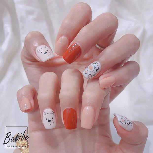 11 mẫu nail cute xỉu lên tay xinh hết nấc mà vẫn nhẹ nhàng để diện đi học - Hình 3