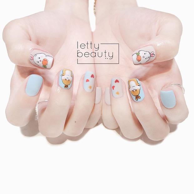 11 mẫu nail cute xỉu lên tay xinh hết nấc mà vẫn nhẹ nhàng để diện đi học - Hình 4