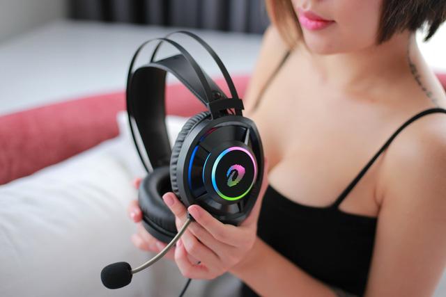 Tai nghe gaming DareU EH469: Vô địch trong tầm giá, chất âm tuyệt vời và thiết kế tròn đẹp mướt mắt - Hình 8