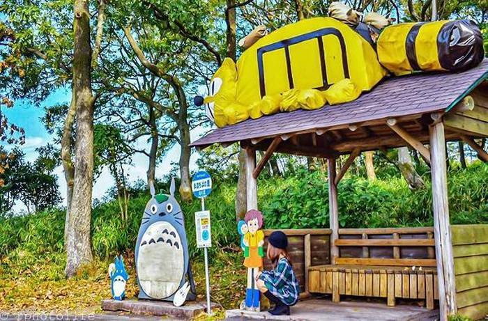 Lạc vào thế giới thực trong phim hoạt hình 'Hàng xóm của tôi là Totoro' tại 4 điểm tuyệt đẹp ở Nhật Bản - Hình 6