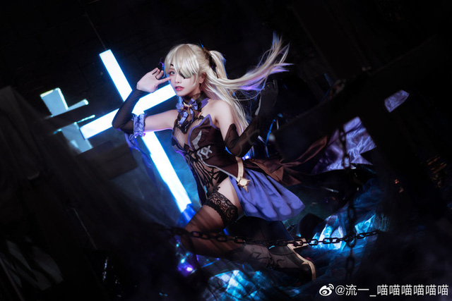 Female coser become the 'guilty princess' in Genshin Impact - Photo 8