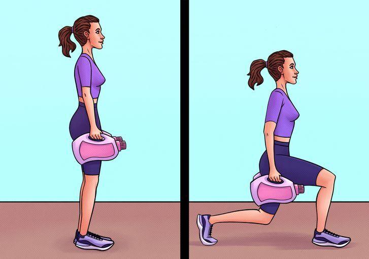 10 động tác thể dục tại nhà hiệu quả như tập gym - Hình 10