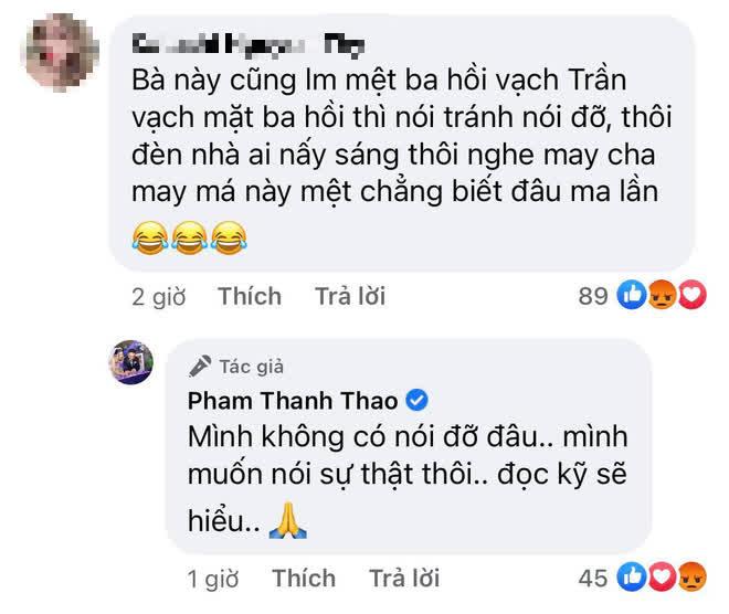 Ca sĩ Phạm Thanh Thảo kết lại lùm xùm với vợ Vân Quang Long, hé lộ cách cố NS đối xử với Linh Lan bất chấp ý kiến phản đối - Hình 3