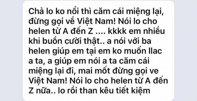 Lộ tin nhắn vợ 2 Vân Quang Long đòi chồng chu cấp 40 triệu tháng vẫn không đủ, chửi cố ca sĩ là thằng khốn - Hình 9