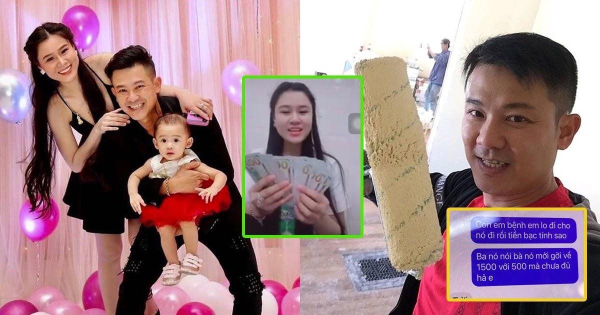 """Lộ tin nhắn vợ 2 Vân Quang Long đòi chồng chu cấp 40 triệu tháng vẫn không đủ, chửi cố ca sĩ là """"thằng khốn"""""""