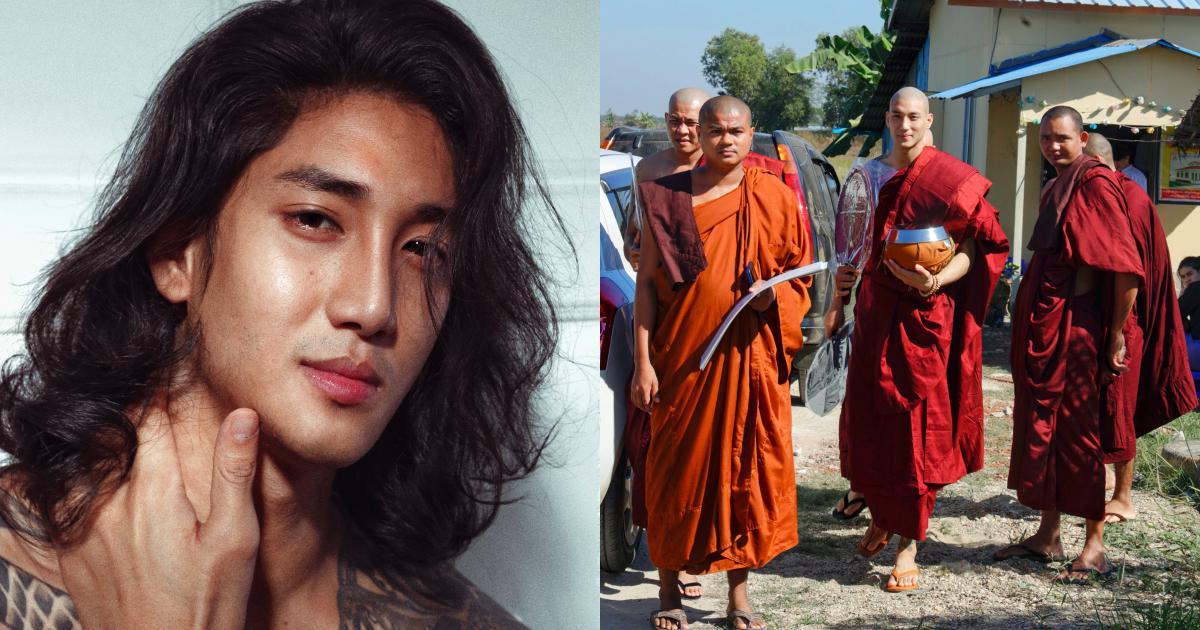 """Xuất hiện """"thầy tu"""" người Myanmar cao to đẹp trai khiến hàng trăm nghìn con tim xao xuyến"""