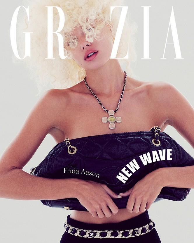 Vẻ đẹp thiên thần của nàng mẫu Na Uy Frida Aasen - Hình 7