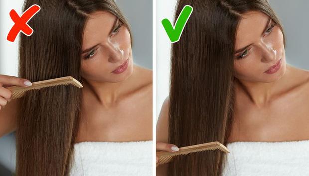 5 sai lầm khi chải tóc có thể làm hỏng mái tóc của bạn, sửa ngay nếu muốn tóc bóng mượt hơn - Hình 1