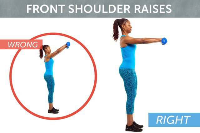 Tập cánh tay kiểu này chỉ làm cho chị em đô con hơn - Hình 5