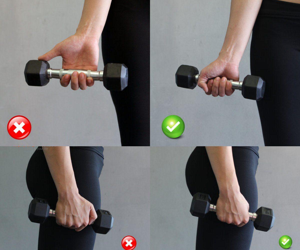 Tập cánh tay kiểu này chỉ làm cho chị em đô con hơn - Hình 2
