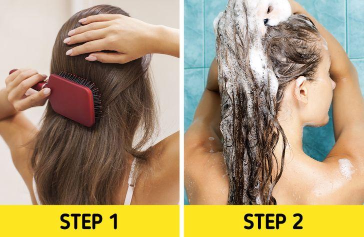 7 sai lầm khi chải khiến tóc hư tổn nặng nề - Hình 7