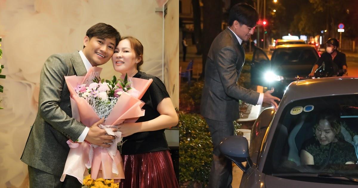 Bà xã Quý Bình đi siêu xe đến đêm nhạc của chồng, nhan sắc rạng rỡ gây bất ngờ