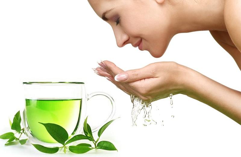 Rửa mặt bằng trà xanh hàng ngày mang lại lợi ích gì cho làn da? - Hình 1