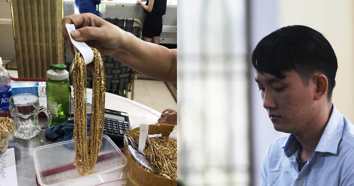 Lời thú tội của nhân viên trộm 455 lượng vàng