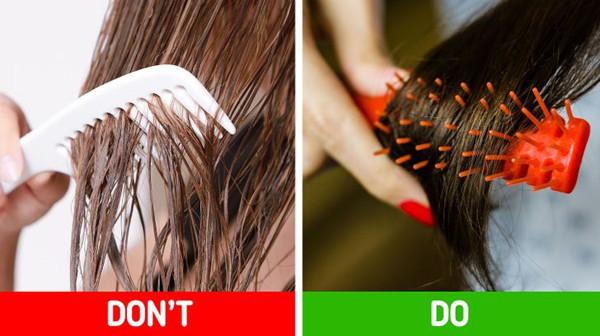10 thói xấu khiến chị em rụng tóc, hói đầu - Hình 11