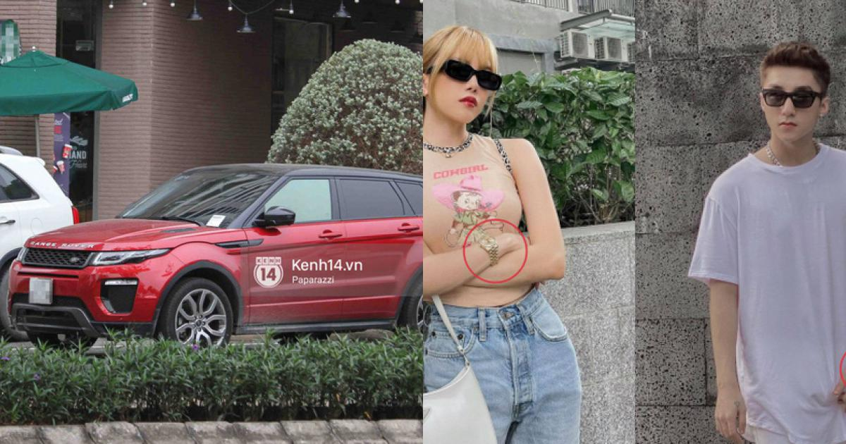 """Giữa hàng loạt drama """"trà xanh"""", lộ clip nghi vấn Thiều Bảo Trâm lái xế hộp tiền tỷ của Sơn Tùng"""