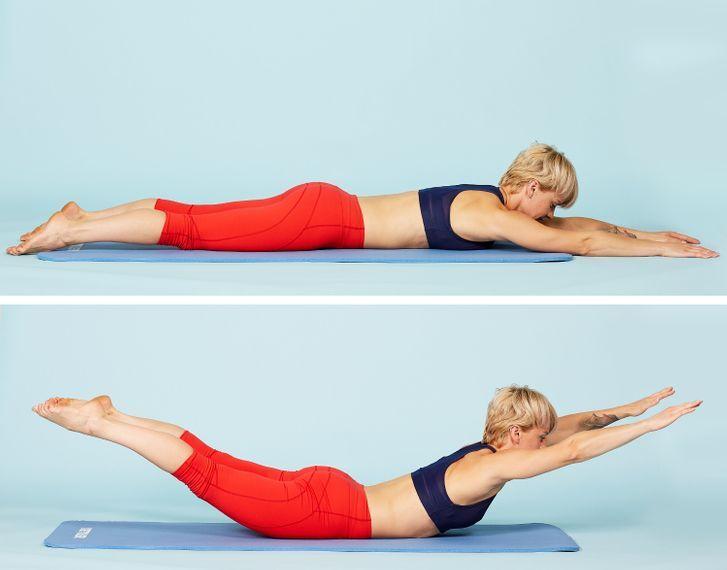 5 động tác nằm một chỗ vẫn giảm mỡ bụng - Hình 4