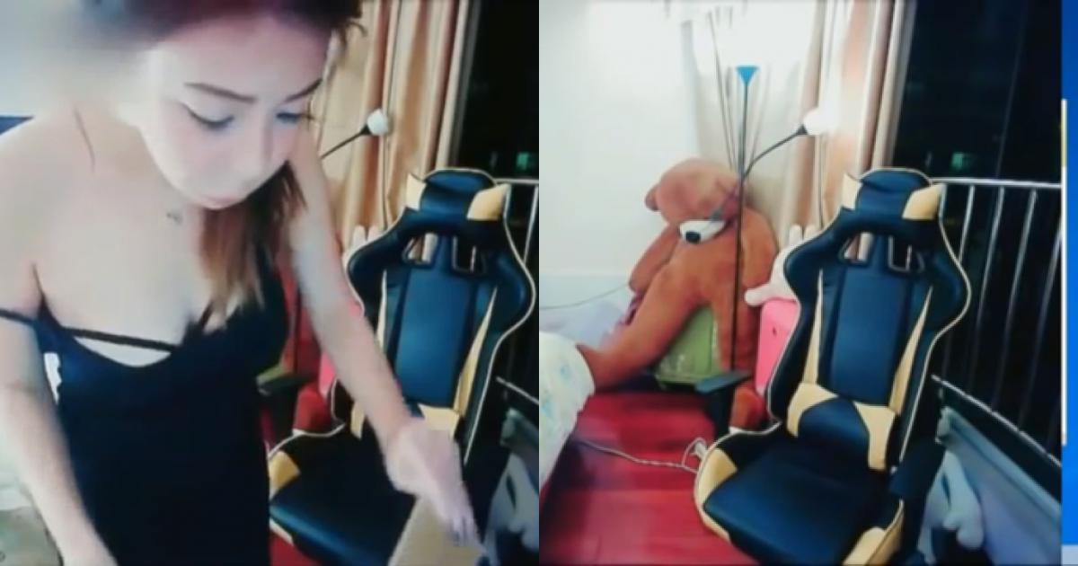 Quên tắt camera khi nghỉ livestream, nữ streamer vô tình để lộ toàn bộ cảnh thay đồ qua màn hình TV