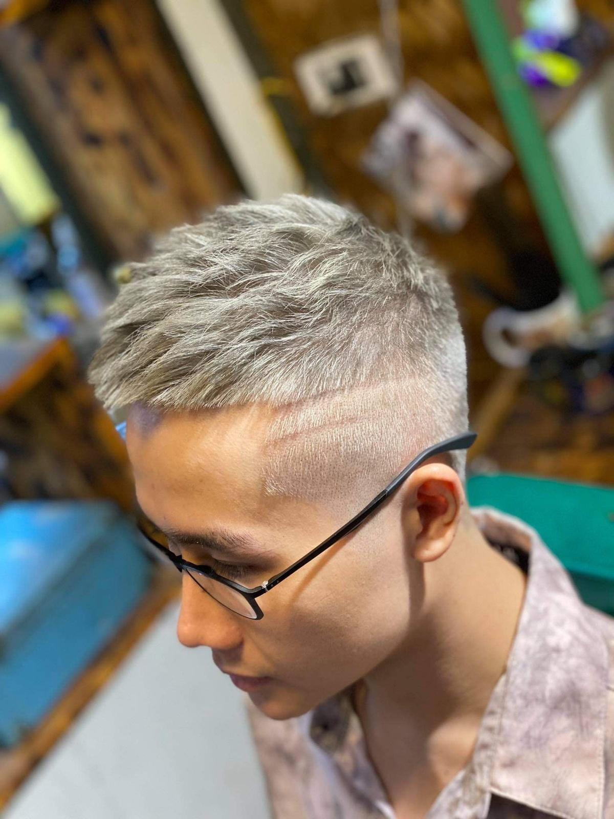 Mốt cắt và nhuộm tóc nam dịp Tết - Hình 8