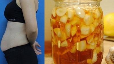 Giảm cân cấp tốc đón Tết nhờ tỏi ngâm chanh đào mật ong - Hình 1