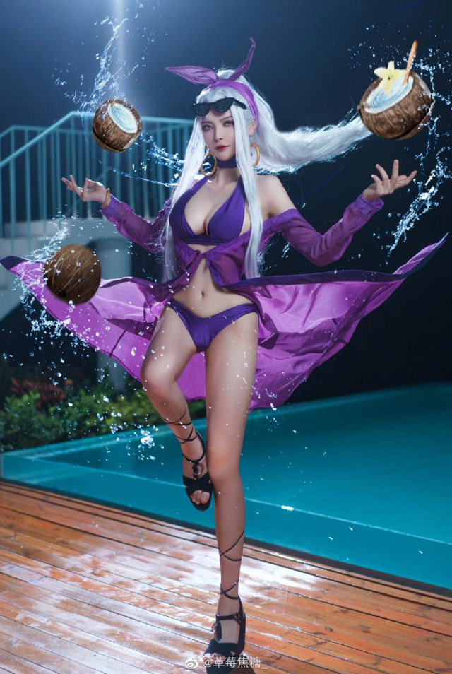 The Dark Queen Syndra in League of Legends shows off her beauty - Photo 5