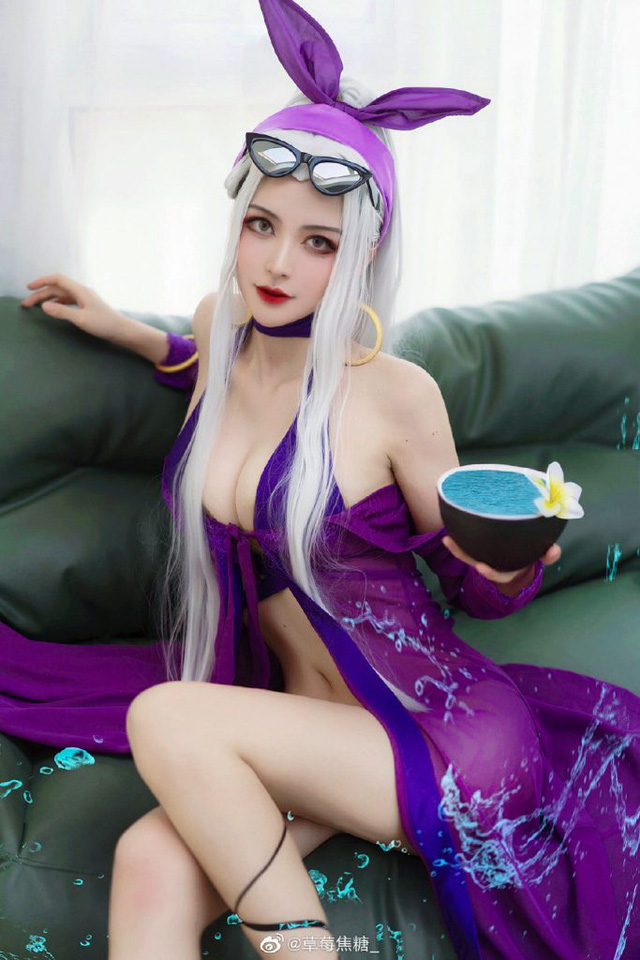 The Dark Queen Syndra in League of Legends shows off her beauty - Photo 4