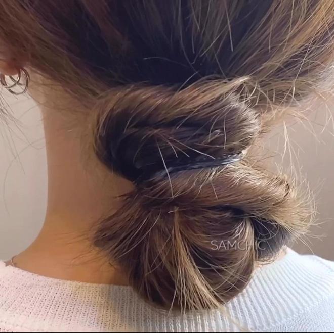 Giắt túi 5 chiêu buộc tóc xinh xẻo dễ làm để Tết này có tóc sang xịn đi chơi - Hình 7