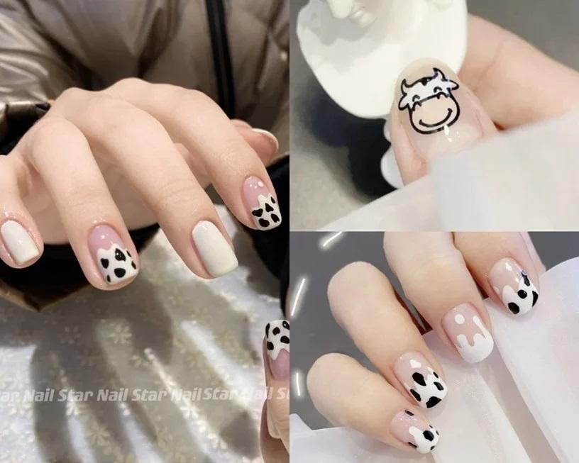 Gợi ý mẫu nails vừa đẹp vừa sang hợp với Tết Tân Sửu 2021 - Hình 9
