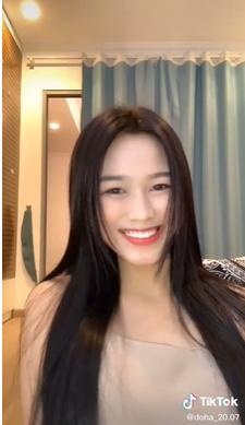 Chia sẻ clip đời thường, Hoa hậu Đỗ Thị Hà được khen xinh đẹp tự nhiên - Hình 4