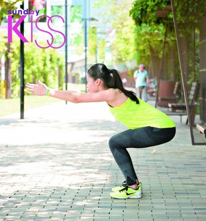 4 bước tập sumo squat cực dễ giúp bạn gái có được vòng 3 căng mẩy như Ngọc Trinh - Hình 2