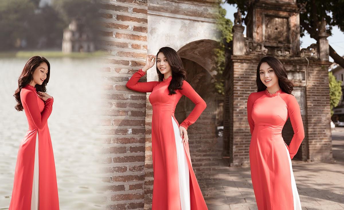 Lâm Thu Hồng gây sốc khi diện áo dài mỏng tang chụp ảnh giữa thời tiết Hà Nội dưới 15 độ C khắc nghiệt - Hình 7
