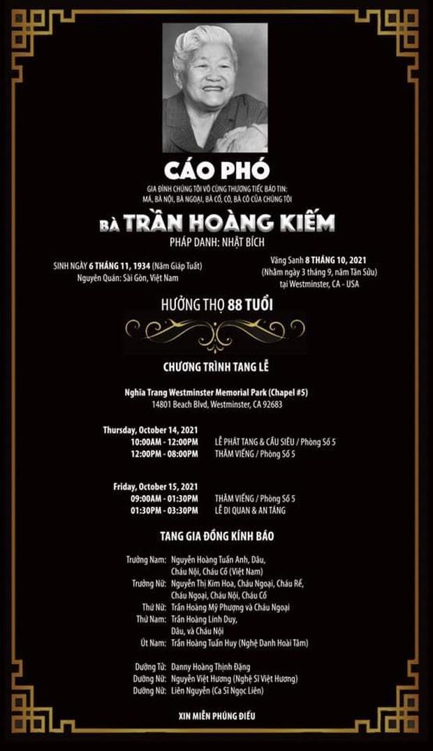 Trên đường đưa tro cốt Phi Nhung sang Mỹ, Việt Hương tiếp tục nhận tin tang sự từ người thân - Hình 4