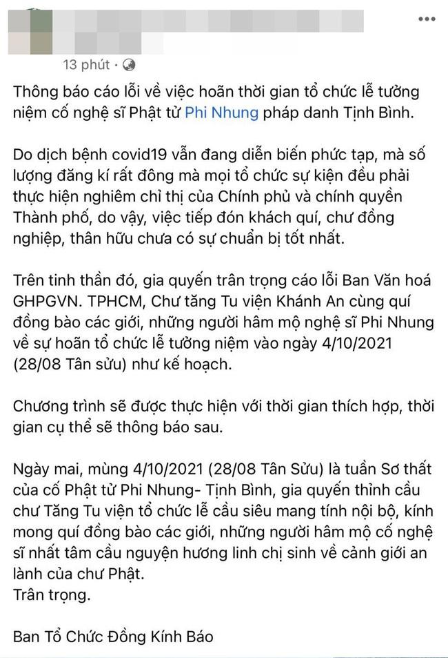 Không nhận vòng hoa, quản lý Phi Nhung hy vọng nghệ sĩ làm điều này - Hình 6