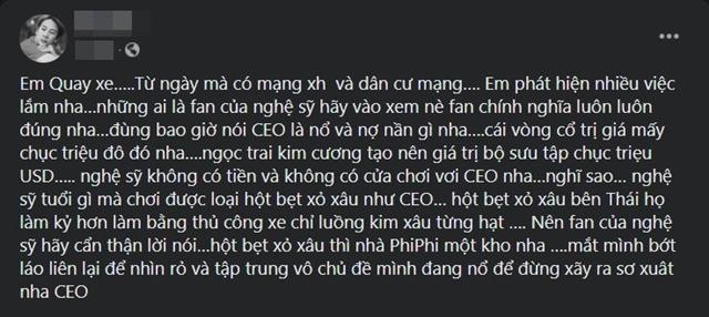 Người thân cận Hoài Linh đăng đàn đá xéo CEO nào đó mắc bệnh 'nổ', Vũ Hà và dàn sao vào 'góp vui' - Hình 2