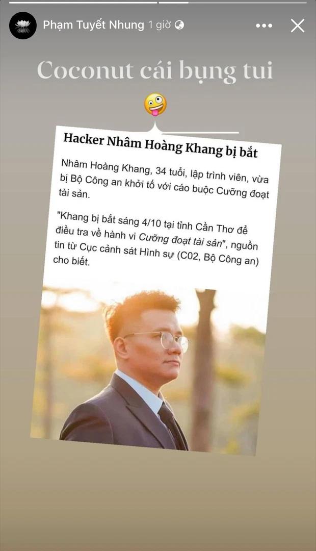 Nghe tin cậu IT bị bắt, Phương Hằng khẳng định: Nhâm Hoàng Khang sẽ không có ngày về - Hình 5