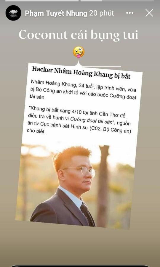 Nhâm Hoàng Khang bị bắt, con nuôi Phi Nhung: Vừa lòng tôi - Hình 2