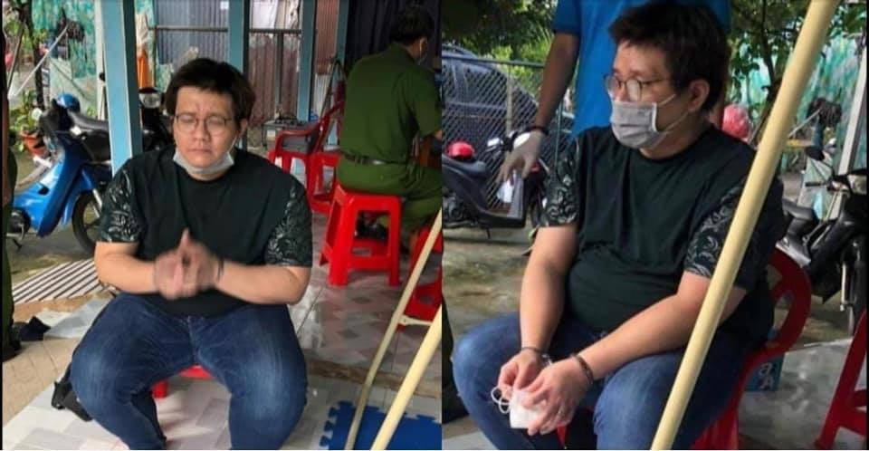 Nóng: Rò rỉ nhiều ảnh hacker Nhâm Hoàng Khang khóc mếu máo, tay bị còng giải về đồn - Hình 4